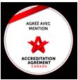 Agrément Canada - Mention d'honneur